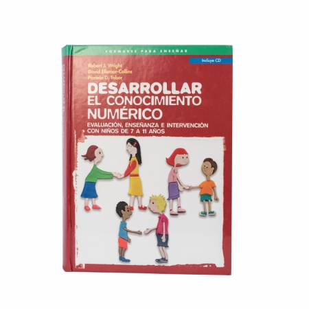 (ONLY 1 LEFT) Desarrollar El Conocimiento Numerico, hardcover (Spanish version of Developing Number Knowledge; Assessment, Teaching & Intervention with 7-11 year olds)