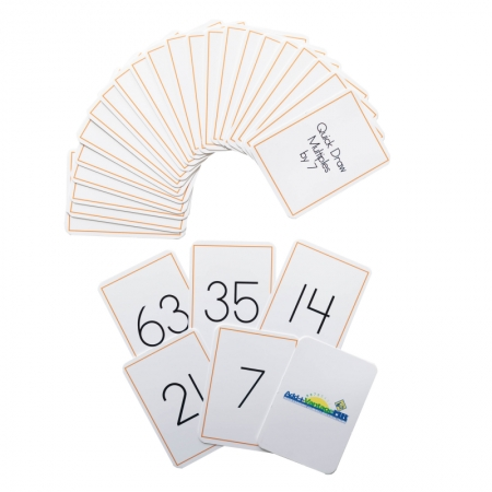Quick Draw Multiples (by 7) Card Deck