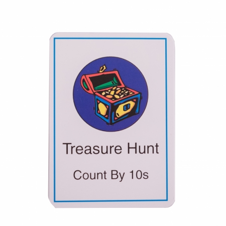 Treasure Hunt Card Deck (by 10s)