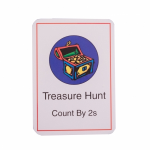 Treasure Hunt Card Deck (by 2s)