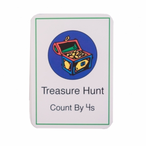Treasure Hunt Card Deck (by 4s)
