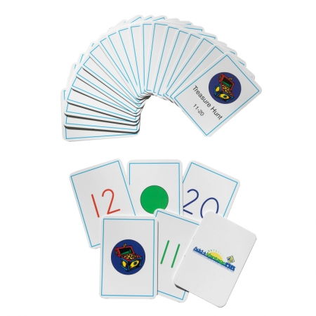 Treasure Hunt Card Deck (Number Range 11-20)